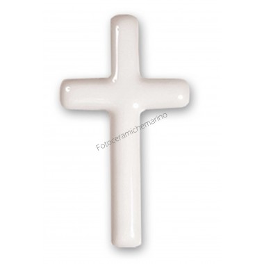 Croce Serie Iris Bianco