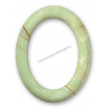 Cornice Ovale Serie Iris Marmorizzata