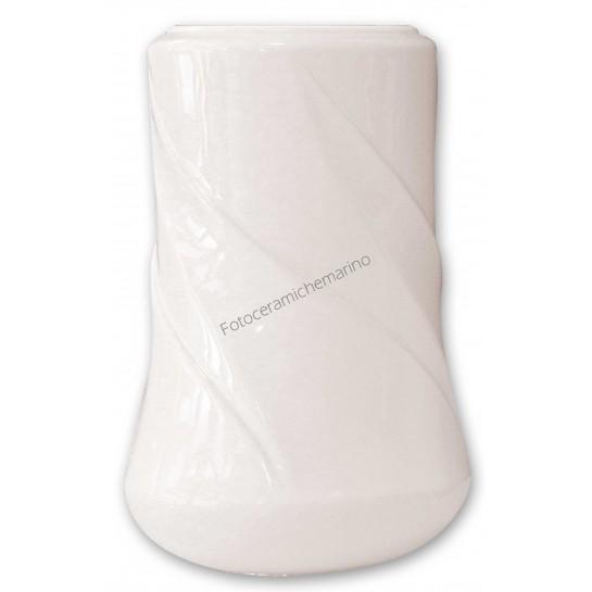 Vaso Serie Erica Bianco