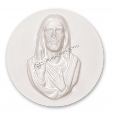 Medaglione Cristo Intarsio