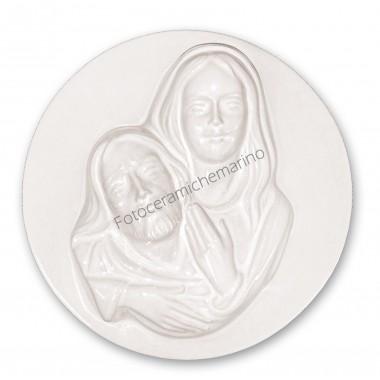 Medaglione Pieta' Intarsio