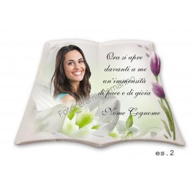Libro Serie Tulipano Colore Lilla