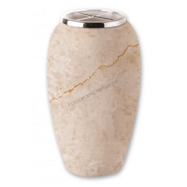 Vaso Serie Artemide Marmorizzato