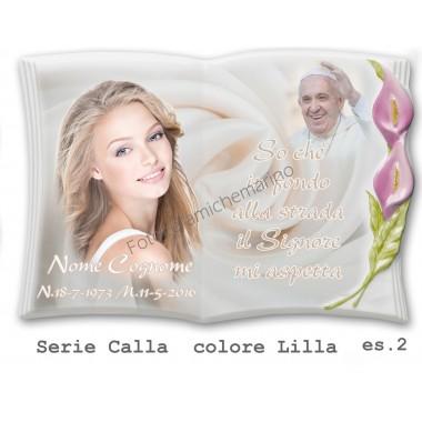 Libro Serie Calla Colore Lilla